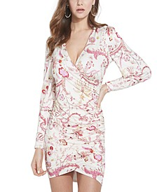Isidora Long-Sleeve Floral Dress