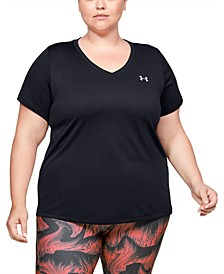 Plus Size Short Sleeve Tech Tee