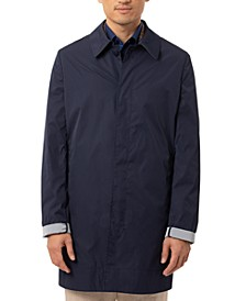 Men's Slim-Fit Double-Face Raincoat