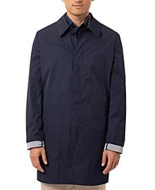 Men's Slim-Fit Double-Face Raincoat