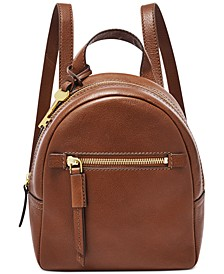 Megan Mini Leather Backpack