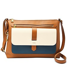Kinley Colorblock Leather Crossbody