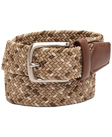 Men's Braided Belt, Created for Macy's