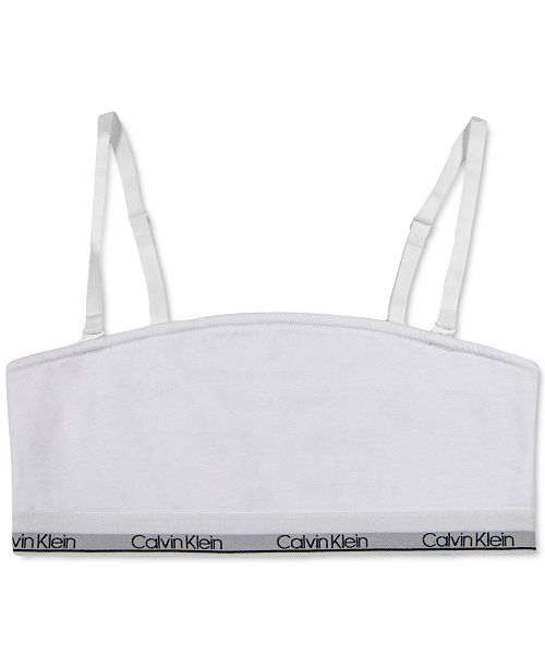 Calvin Klein Little & Big Girls Bandeau