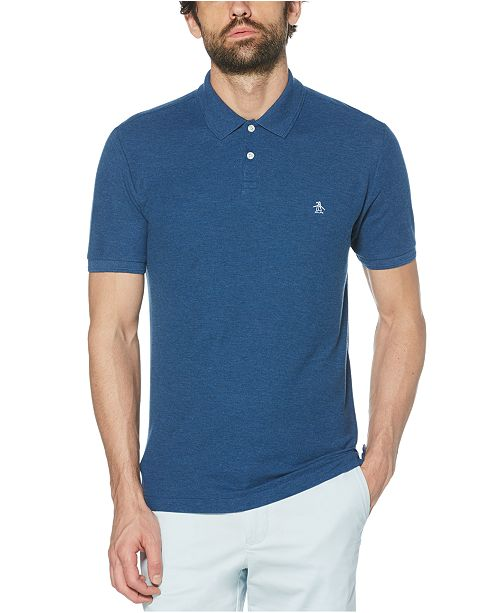 Original Penguin Men's Daddy Solid Polo Shirt