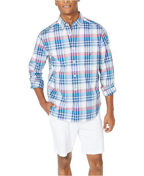 Nautica Men's Classic-Fit Casual Plaid Shirt