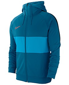 Men's Dry Academy Colorblocked Hooded Soccer Jacket
