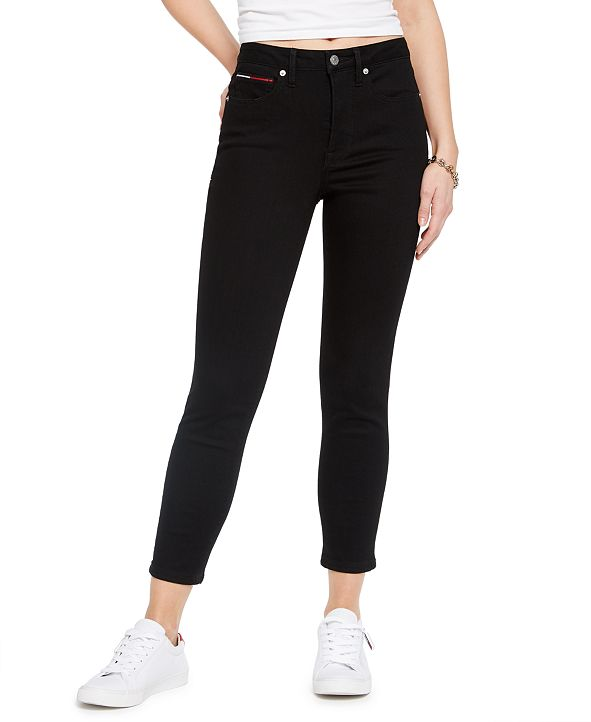 Tommy Jeans High Rise Skinny Crop