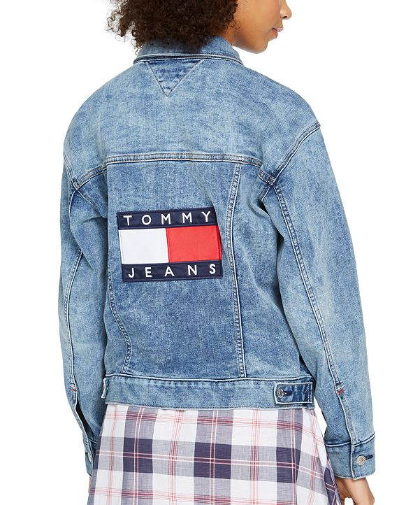 Tommy Jeans Oversized Denim Trucker Jacket