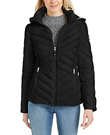 Hooded Packable Puffer Jacket