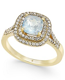Stone Crystal Halo Ring, Created for Macy's