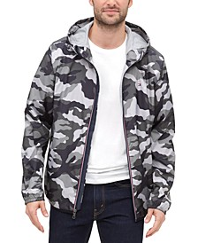 Men's Zip-Front Hooded Windbreaker