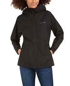 Minimalist Hooded Rain Jacket