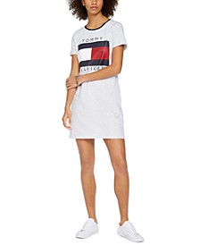 Crewneck Flag Dress