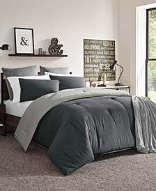 Solid Reversible Comforter Collection