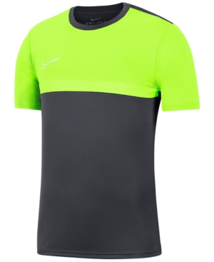 Nike Men's Dri-fit Academy Pro Colorblocked Soccer Shirt