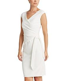 Petite Jersey Cap-Sleeve Dress