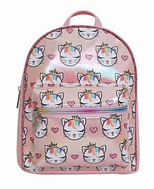 Toddler, Little and Big Kids Princess Bella Kitty Printed Mini Backpack