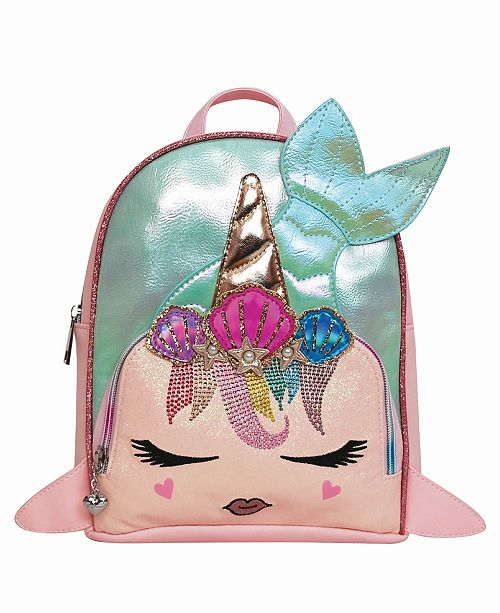 OMG! Accessories Toddler, Little and Big Kids Gisel The Mermaid Embellished Mini Backpack