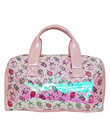 Toddler, Little and Big Kids Miss Gwen Unicorn Snacks Sequins Duffle Bag