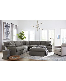 Joud Fabric Sectional Collection