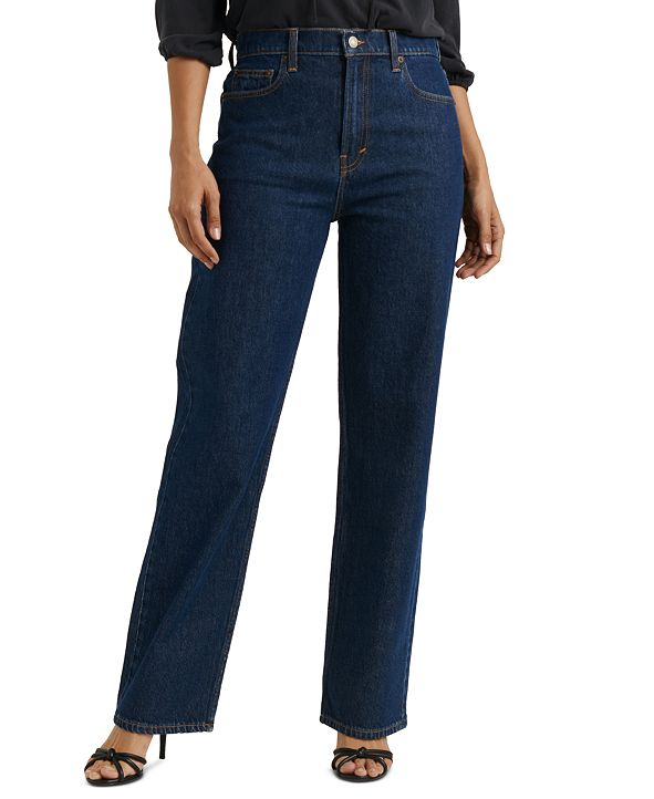 Lucky Brand Relaxed Stove Pipe Jeans