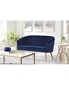 Upholstered Accent Settee
