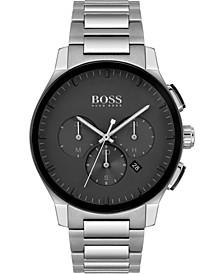 Men's Chronograph Peak Stainless Steel Bracelet Watch 44mm