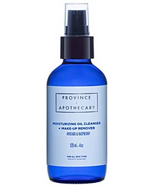 Moisturizing Oil Cleanser and Make-Up Remover, 4 oz