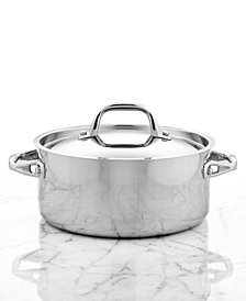 Anolon Tri-Ply Stainless Steel 5 Qt. Covered Dutch Oven