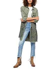 Forever Free Cotton Tiered Jacket
