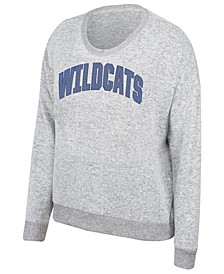 Women's Kentucky Wildcats Cozy Crew Sequin Sweatshirt