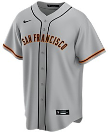 Men's San Francisco Giants Official Blank Replica Jersey