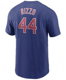 Men's Anthony Rizzo Chicago Cubs Name and Number Player T-Shirt
