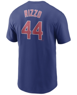 Nike Men's Anthony Rizzo Chicago Cubs Name and Number Player T-Shirt