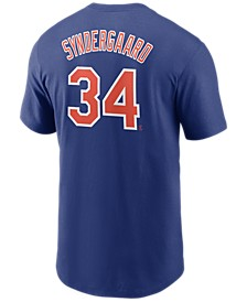 Men's Noah Syndergaard New York Mets Name and Number Player T-Shirt