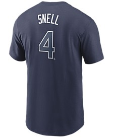Men's Blake Snell Tampa Bay Rays Name and Number Player T-Shirt