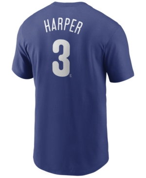 Nike Men's Bryce Harper Philadelphia Phillies Name and Number Player T-Shirt
