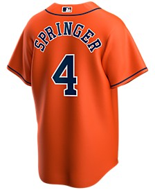 Men's George Springer Houston Astros Official Player Replica Jersey