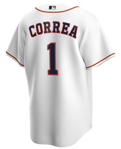 Nike Men's Carlos Correa Houston Astros Official Player Replica Jersey