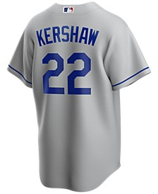 Men's Clayton Kershaw Los Angeles Dodgers Official Player Replica Jersey