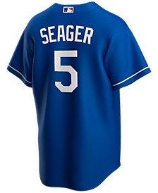 Men's Corey Seager Los Angeles Dodgers Official Player Replica Jersey