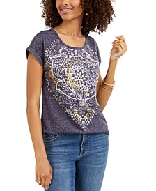 Graphic Print T-Shirt, Created For Macy's