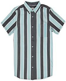 Men's Vertical Striped Shirt