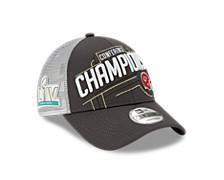 Kansas City Chiefs Conference Champ Locker Room 9FORTY Snapback Cap