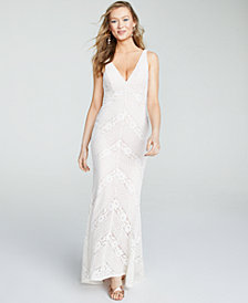 Jump Juniors' Slim Lace Gown