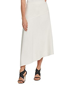 Asymmetrical Spliced Skirt