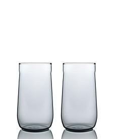 Angle Bell High Ball Glasses - Set of 2