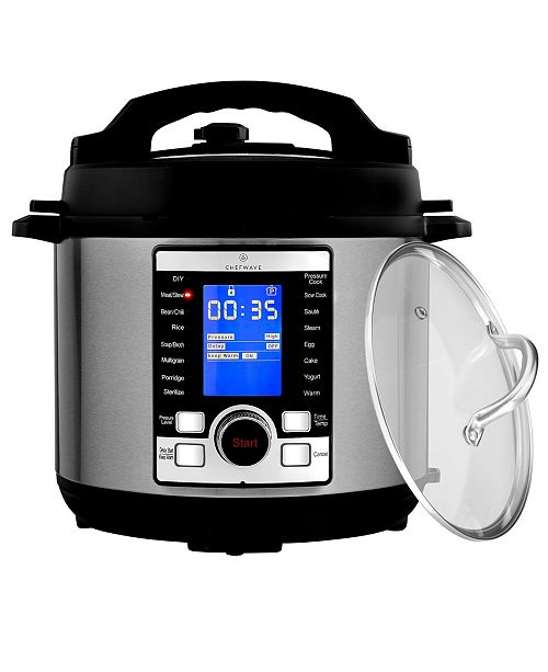 ChefWave Swift Pot 10-In-1 Programmable Multi Cooker with Accessories