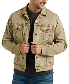 Men's Stretch Sateen Trucker Jacket